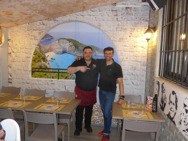 Insieme a Domenico, co-titolare di Pat Pizza, tra le migliori pizze di tutta la Liguria