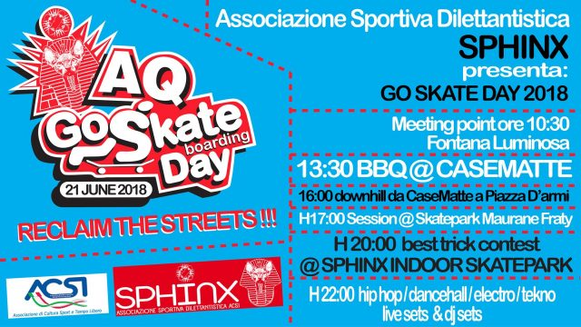 go skateboarding day 2018 laquila