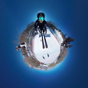 gopro skiing best video sciare