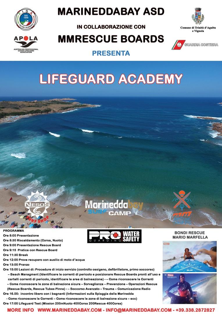 Lezione di salvamento tra le onde della marinedda - La porta rossa film completo ...