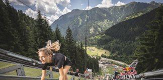 Nika Mazi, da modella a atleta della vertigine - RedBull400_phcredits_FedericoModica3_RedBullContentPool