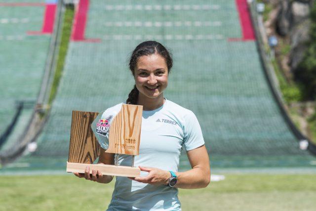Deborah Chiarello vincitrice tra le donne. RedBull400_phcredits_FrancescoSecchi2_RedBullContentPool