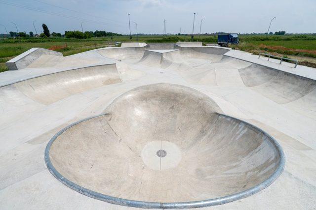comacchio skatepark