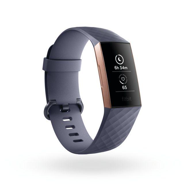 Il Fitbit Charge 3 in modalità monitoraggio del sonno