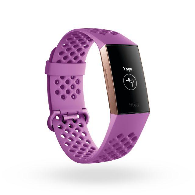 Il Fitbit Charge 3 è perfetto anche per le lezioni di YOGA