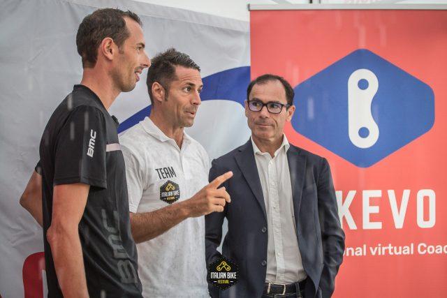 Alessandro Ballan e Davide Cassani, due ospiti dell'Italian Bike Festival