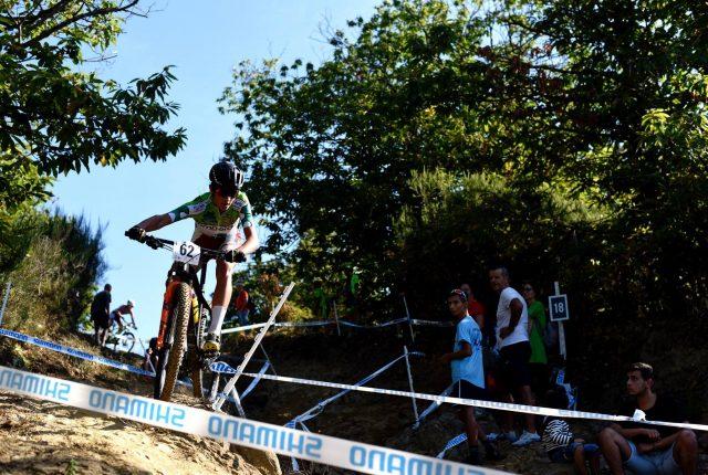 Nicolas Milesi durante la competizione Esordienti 1° anno