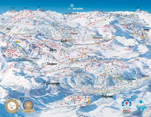 st anton alberg skipass ski sciare