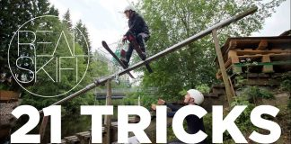 real skifi 21 tricks freeski video viral