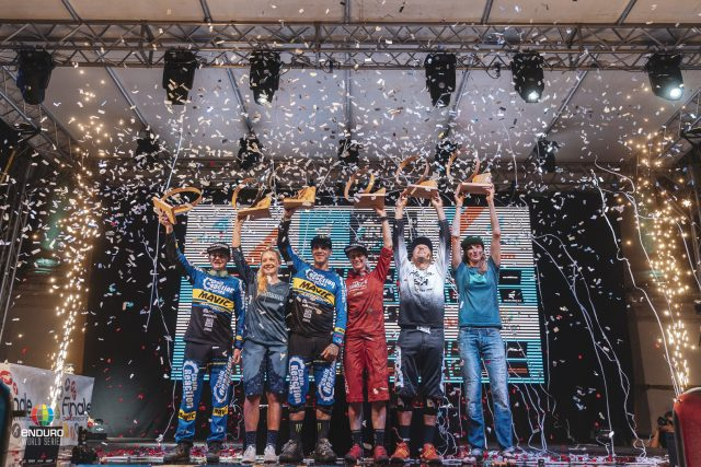 I campioni EWS 2018 incoronati a Finale Ligure