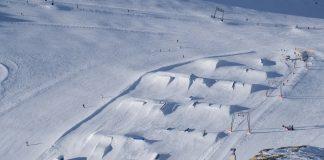 Kitzsteinhorn snowpark ski