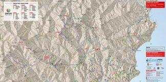 Mappa sentieri Finale Ligure