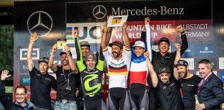 Cannondale Factory Racing premiato come miglior team alla World Cup XCo di Albstadt