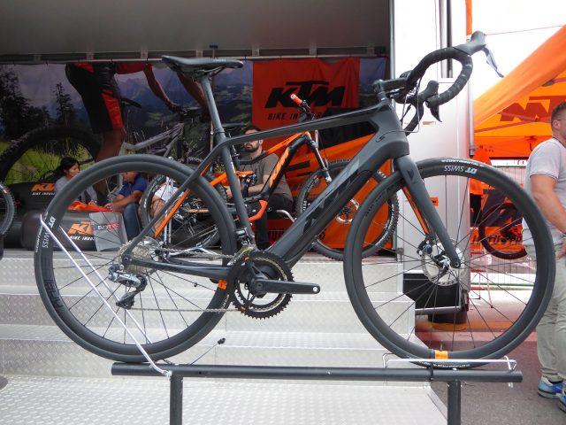 La eRoad di KTM Bikes