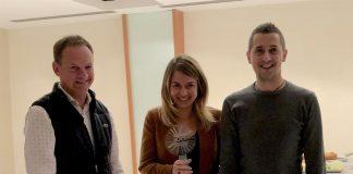 Patrizia Daldoss e Sergio Battistini premiati a Barcellona al Meeting UCI