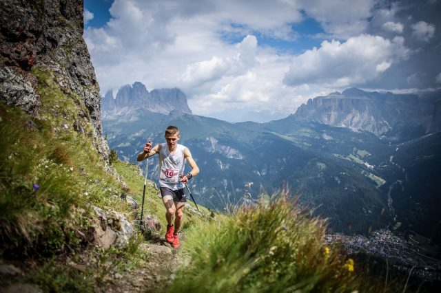 Davide Magnini, fortissimo atleta del Team Salomon, sicuro protagonista del GOLDEN TRAIL NATIONAL SERIES Italy