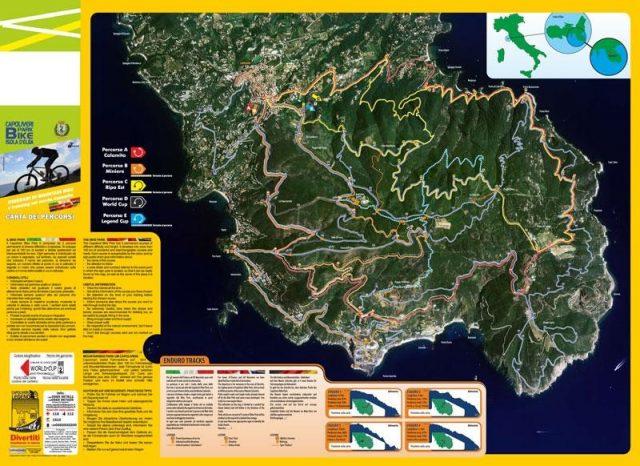 Mappa Elba