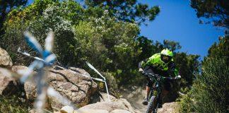 Alberto Stopani sui trail di Sanremo - Foto: Francesco Bartoli Avveduti