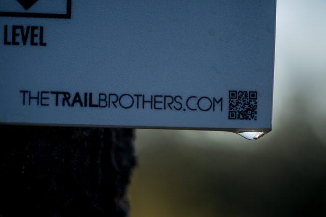 Uno dei sentieri di Massa Marittima curata dal gruppo locale The Trail Brothers