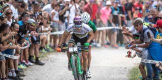Nino Schurter al via della tappa sammarinese degli Internazionali d'Italia Series