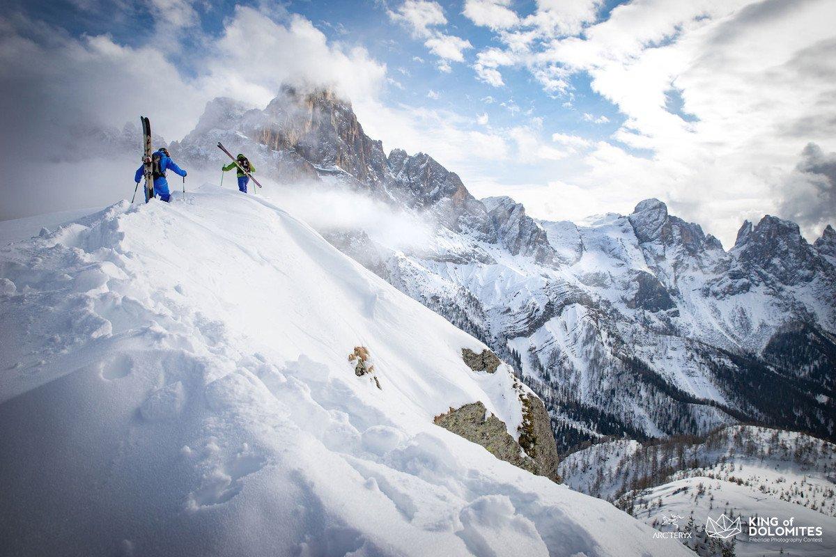king od dolomites ski freeride