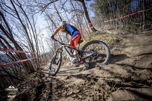 Giulia Amone, team Bike Garage, terza assoluta tra le ragazze