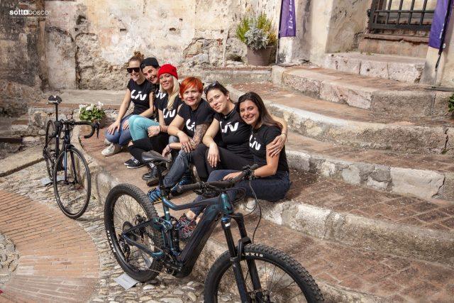 Il gruppo delle Liv Ambassador 2019 a Finale Ligure