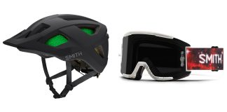 Casco Session e mascherina Squad MTB di Smith Optics