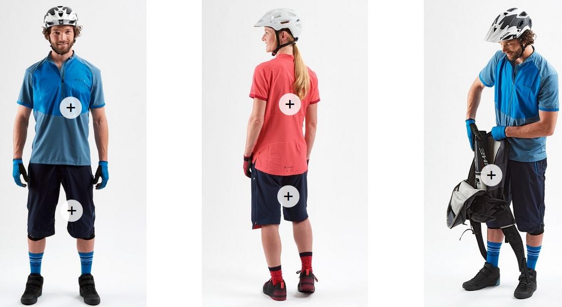 La linea d'abbigliamento e accessori Vaude per le eBike