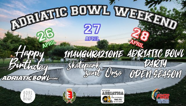 adriatic bowl weekend fano