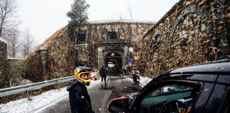 La neve ha causato l'annullamento della prima tappa Superenduro 2019