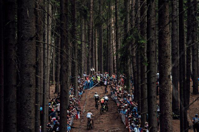 Uno scorcio dello spettacolare tracciato cross country di Nove Mesto