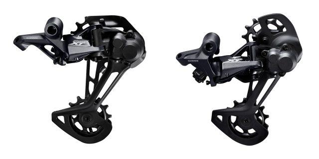 I cambi posteriori Shimano XT M8100 1x e M8120 2x