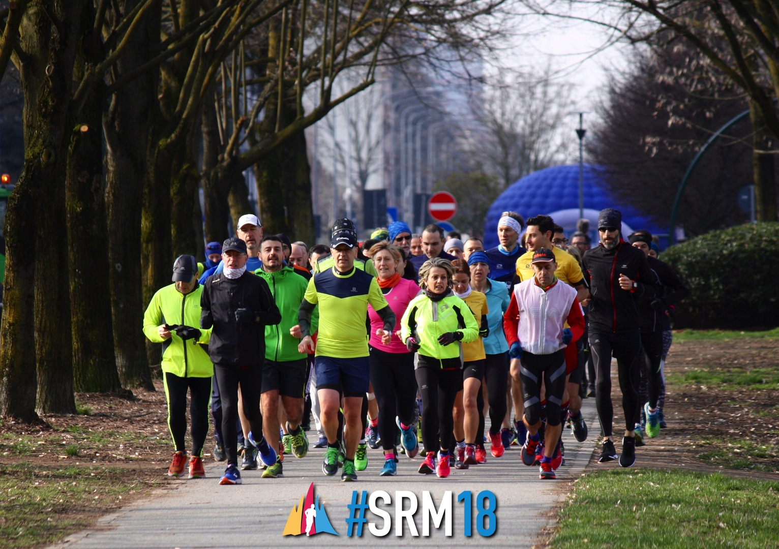 Una delle sedute di allenamento preparatorio per la Salomon Running 2018