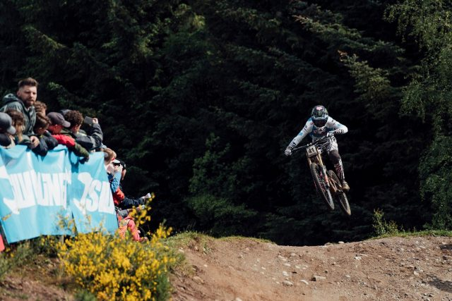 Loris Vergier terzo a Fort William