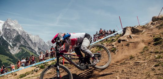 World Cup DH Leogang - Tracey Hannah