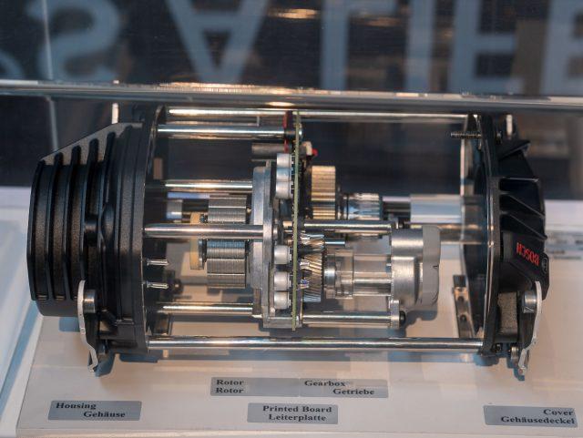 Spaccato del nuovo motore Bosch Performance Line CX MY20