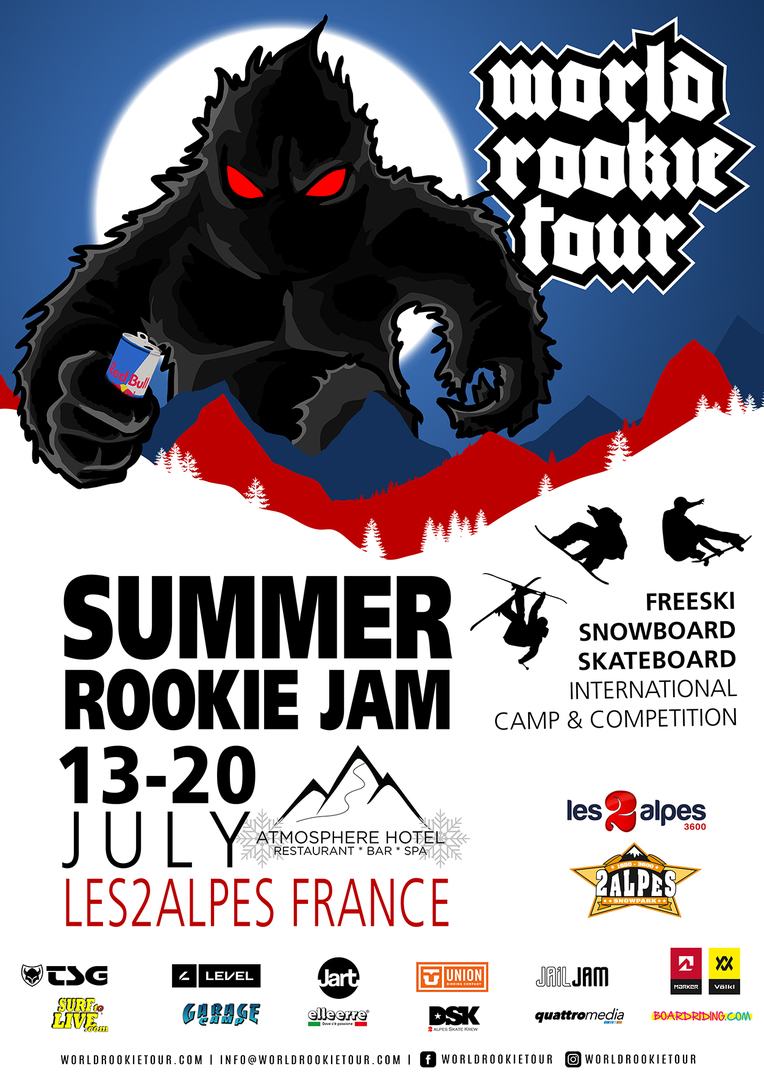 2 alpes rookie freeski