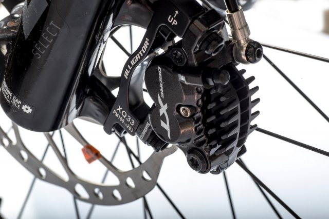 Freni a disco Shimano XT a quattro pistoncini