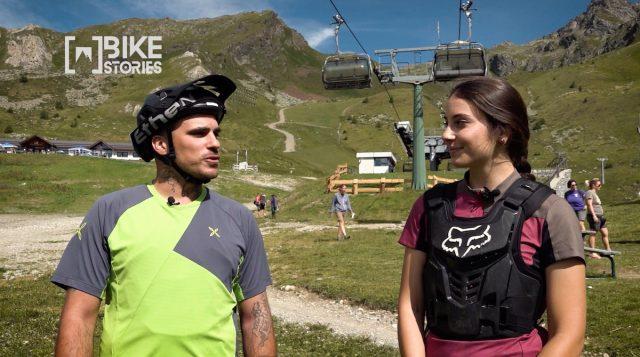 Alessandro e Veronica al Bike Park del Tonale