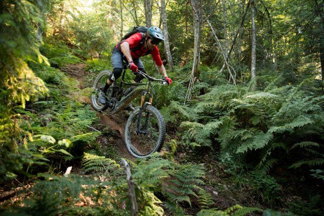 SRAM X01 Eagle AXS in prova sui trail di Les Gets