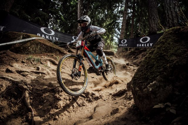 Laurie Greenland, alla prima vittoria in World Cup DH in Val di Sole