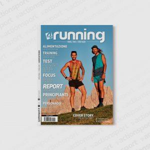 La cover di 4Running #4 con gli atleti La Sportiva Michele Graglia e Anton Krupicka protagonisti. Foto Dino Bonelli