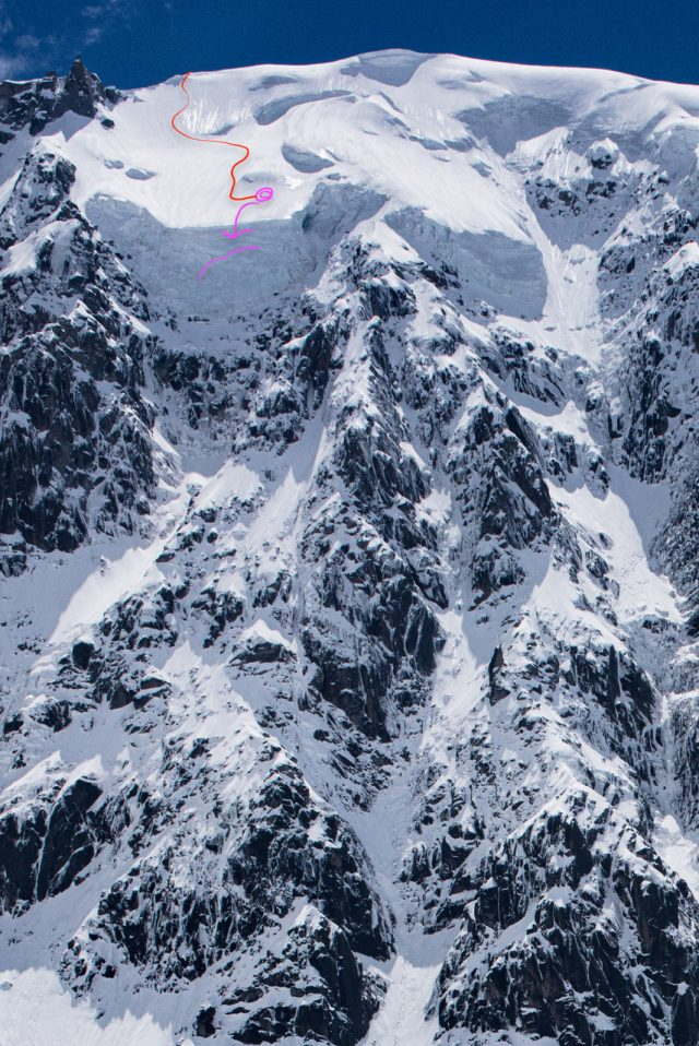 jumeux ski chamonix