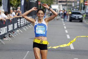 Sarah Giomi, vincitrice della 25k