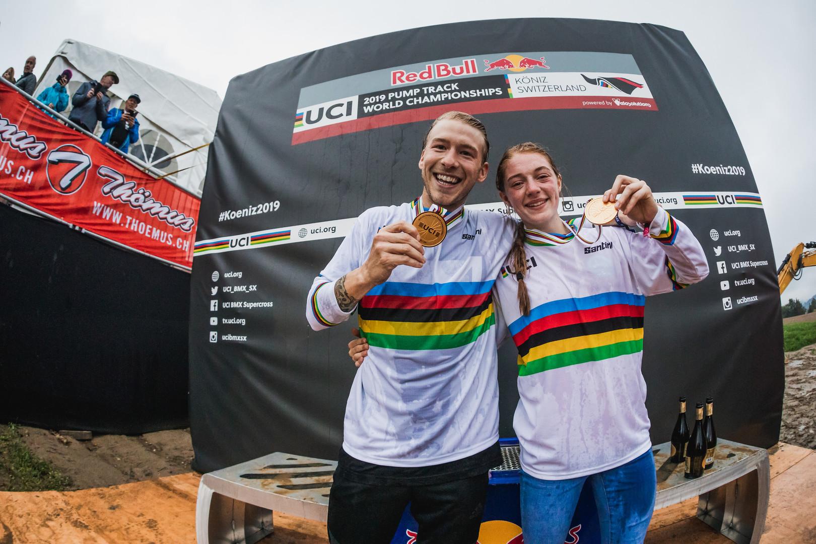 Tommy Zula e Payton Ridenour, i vincitori dei primi Mondiali UCI Pump Track