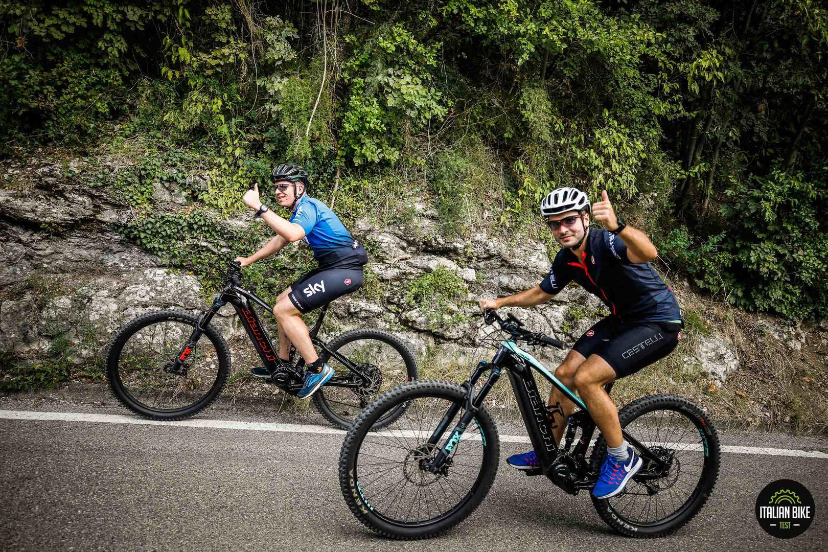 Shimano Steps Italian Bike Test - Alzano Lombardo