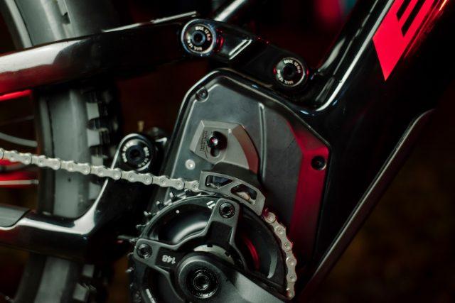 AtomX Carbon - Scocca motore