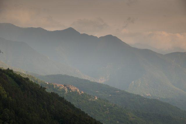 Vesubie e Valdeblore - panorama da Berthemont-Les-Bains