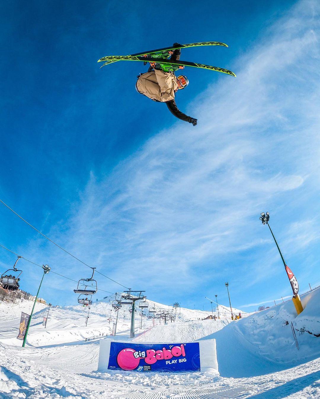 big babol italian freeski tour prato nevoso ski freeski italia